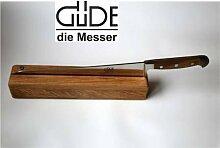 Güde Brotmesser Messer 32 cm Griffschalen aus