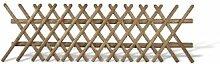 Günstig Aktionspaket 10 x Jägerzaun / Jägerzäune Holzgartenzaun im Maß 250 x 80 cm (Breite x Höhe) für den Garten aus Kiefer/Fichte Holz, druckimprägniert braun Angebo