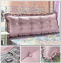 Günstige Baumwolle Bett großes Kissen Bett Rückenlehne Kissen Paar Doppel Kissen gepolstert ( farbe : # 5 , größe : 1.2m )