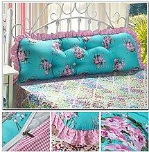 Günstige Baumwolle Bett Rückenkissen überdimensionalen Doppelbett Kissen weich Paket ( farbe : #16 )