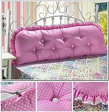 Günstige Baumwolle koreanische Version des großen Doppelbett Kissen Kissen Bett Rückenlehne Kissen gepolstert ( farbe : #8 )