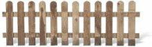 """Günstige Zaunschnäppchen 5 x Gartenzäune + Lattenzäune Zaunfelder im Maß 180 x 60 cm (Breite x Höhe) aus Kiefer/Fichte , druckimprägniert """"Günstig & Gut"""" Aktions Se"""