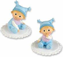 Günthart Babyfiguren Taufe, Hellblau