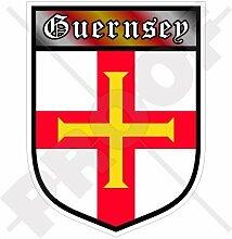 GUERNSEY Kanalinseln Schild Großbritannien UK