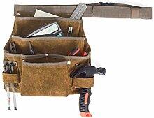 Gürteltasche für Gartenwerkzeuge, verstellbar,