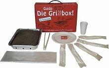 Guido Die Grillbox Einweggrill - 31-teilig für 5