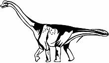 guijiumai Aufkleben Wandtattoo Saltasaurus