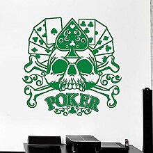 guijiumai Dctal Casino Aufkleber Skull Gambling