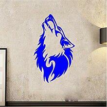 guijiumai Dctal Wolf Wandaufkleber Wolf Aufkleber