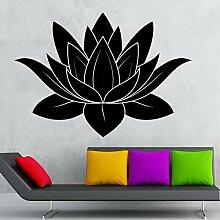 guijiumai Dctal Yoga Club Sticke Lotus Aufkleber