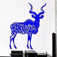 guijiumai Deer Vinyl Wandtattoo Deer Antelope Kunu