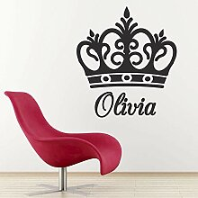 guijiumai DIY Personalisierte Name Crown