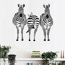guijiumai DREI Zebra Wandaufkleber Günstigste