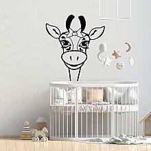 guijiumai Giraffe Kinderzimmer Wandaufkleber