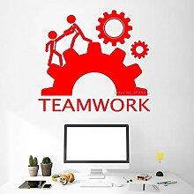 guijiumai Inspirierende Teamarbeit Aufkleber Büro