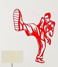 guijiumai Kampfkunst Wandbild Karate Wandaufkleber