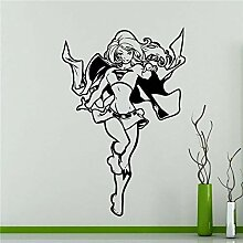 guijiumai Kreative Supergirl Wandtattoo Dc Marvel
