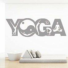guijiumai Nette Yoga wasserdichte wandaufkleber