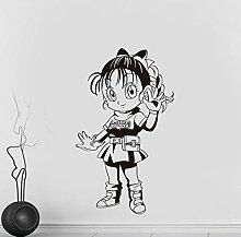 guijiumai Neue CartoonGirl Vinyl Wandtattoos