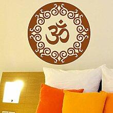 guijiumai Yoga Wandtattoo Wohnkultur Wohnzimmer