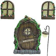 Guillala Miniatur Fee Haus Tür Fenster und