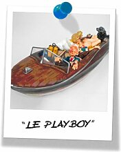 Guillermo Forchino Comic Art Figur - LE PLAYBOY -