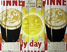 Guinness Baumwoll-Geschirrtuch 3er Se