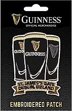 Guinness bestickt Nähen auf Patch-3Pints