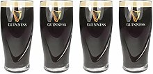 Guinness Bierglas/Pint-Glas, geprägt, offizielles