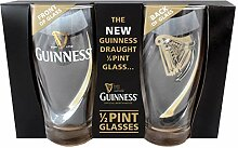 Guinness Gläser Set 2 Half Pints