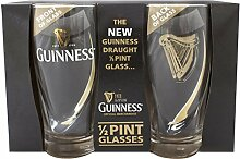 Guinness Gläser Set 2 Half Pints