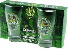 Guinness Green Collection Set aus Zwei Mini Pint