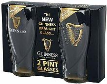 Guinness Guinness Logo Unisex Pint-Glas klar,
