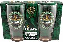 Guinness Irland Kollektion 2Pint Glas Pack
