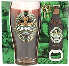 Guinness Irland Label Pint Glas & PVC Öffner Se