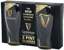 Guinness Logo Pint-Glas klar