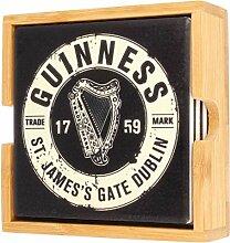 Guinness Official Merchandise Keramik-Untersetzer,