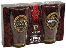 Guinness Ruby Red Pint-Glas - klar - Offizieller &