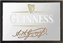 Guinness Signature - Holzrahmen Kleinen Spiegel