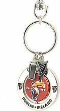 Guinness Toucan Spinner Schlüsselring mit zwei