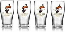 Guinness Tukan-Gläser, offizielles Lizenzprodukt,