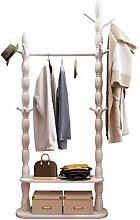 GUIPING Kleiderständer Nordic Einfache Massivholz