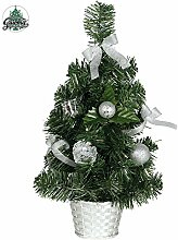 guirma Mini-Weihnachtsbaum, Schon Pronto, verziert
