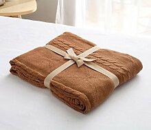 GuiXinWeiHeng Knitting Linie Decke Wolldecke Klimaanlage ist Sofa Decke Baby Baumwolle Decken , 5 , 180x200cm