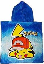 GUIZMAX Badeponcho mit Kapuze Pokemon Cape für