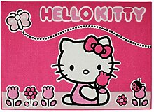 GUIZMAX Teppich Kind Hello Kitty 133 x 95 cm