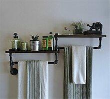GUJJ Die Badezimmer Wand Handtuchhalter Eisen