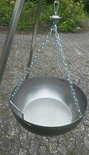 Gulaschkessel Eisen 14 Liter mit kugelgelagertem