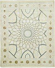 Gumbad Teppich Orientteppich 301x252 cm, Indien