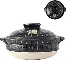 Gumbo Stockpot Stew Pot-Schwarz 33.5x18.2cm
